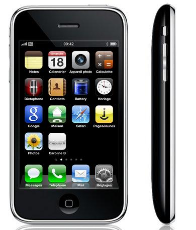 L'application Caroline B pour iphone et autres smartphones