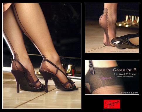 Bas nylon Schiaparelli by Caroline B